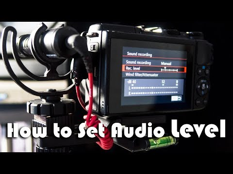 How to Correctly Set the Audio Level | Audio 101 for Video Creators