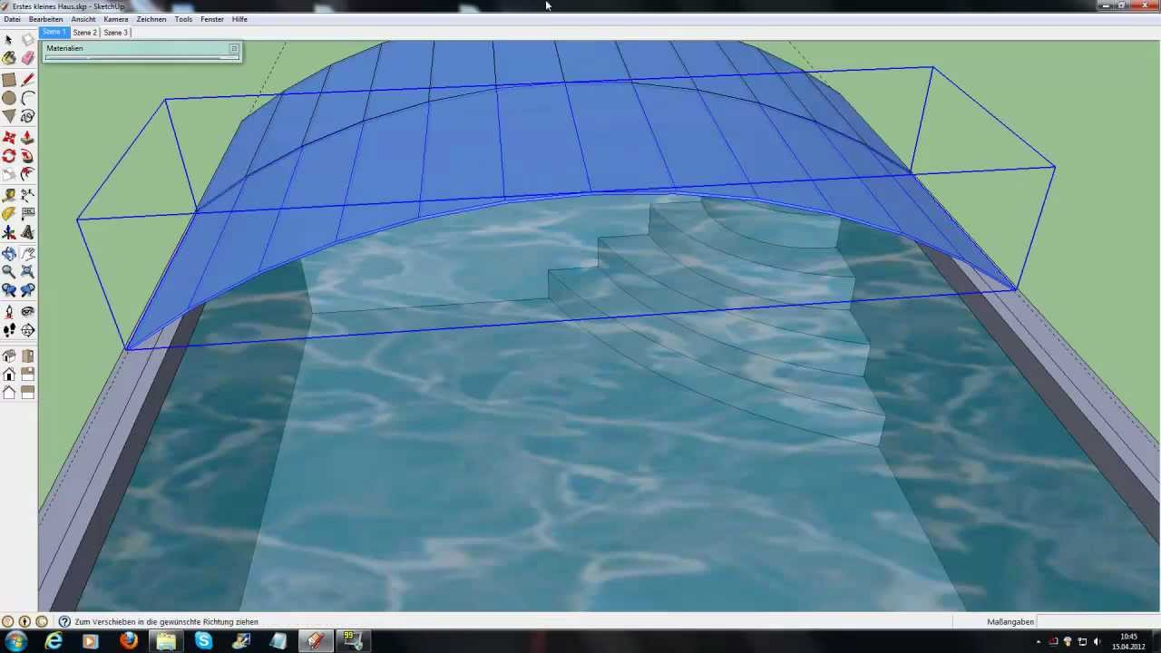 Gotonik 39 s google sketchup tutorial teil 7 schwimming for Pool design sketchup