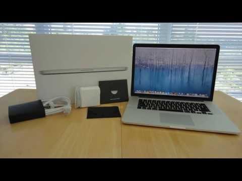 Apple MacBook Pro 2013 (15 Inch Retina Display) Unboxing & Overview