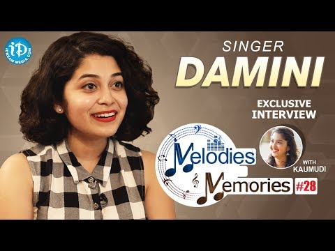 Singer Damini Bhatla Exclusive Interview || Melodies And Memories #28