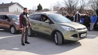 тест new Ford KUGA 2013   www.skorost-tv.ru(Игорь Бурцев рассказывает о новом Форд Куга в авторской программе