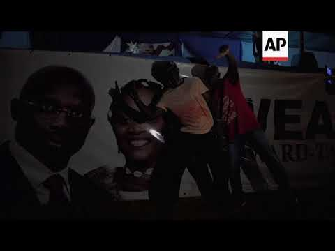First results in Liberia election, but fraud allegations surface