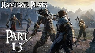 Middle-Earth: Shadow Of Mordor PC Playthrough - Part 13 - Untouchable