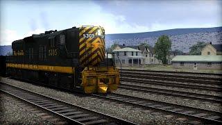 Train Simulator 2015 Gameplay - D&RGW EMD SD9 Loco Preview