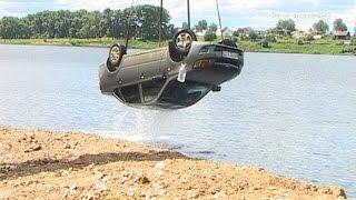 В Ревде двое мужчин утонули в машине