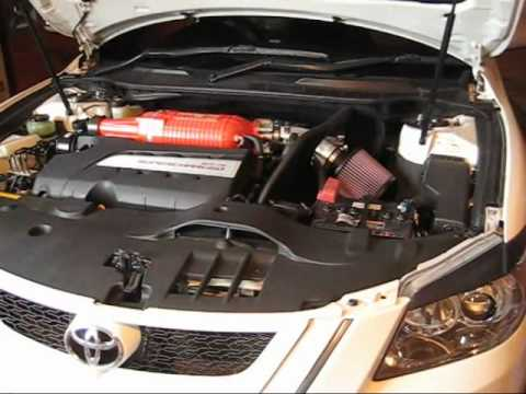 Trd Aurion Pt3 K Amp N Sri Supercharger Whine Youtube