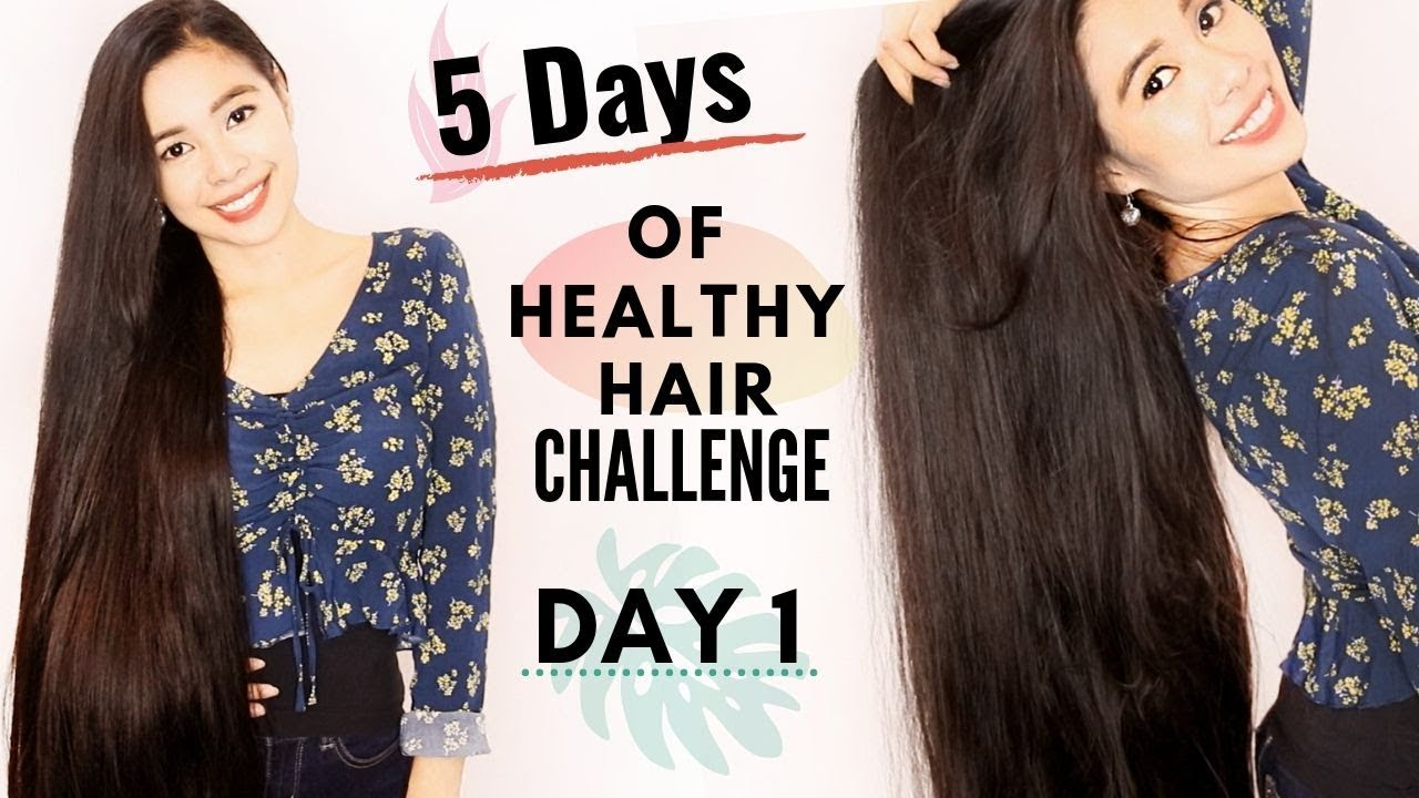 5 Days of Healthy Hair Challenge-Day 1- Scalp Exfoliation & Baggy Method  For Dry Hair-Beautyklove