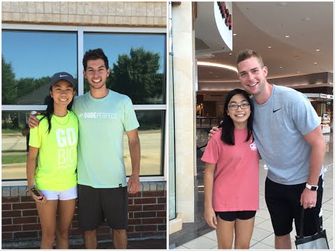 Meeting Coby Cotton & Cody Jones from Dude Perfect