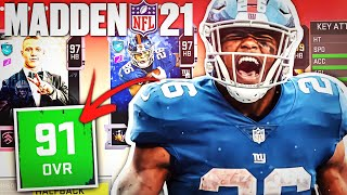 IF YOU CAN GUESS THEIR MADDEN 21 RATING THEN YOU CAN DRAFT THEM!! (This is Stupid!)