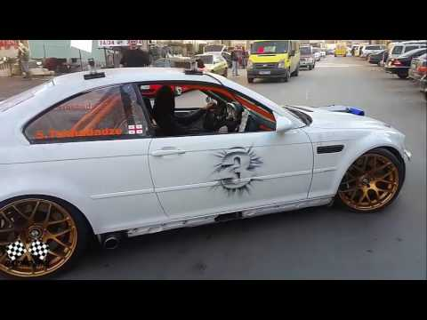 BMW V10 E46 M3 Engine Exhaust Bypass - YouTube