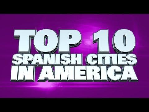 Top 10 Spanish speaking US cities 2014