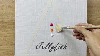Daily challenge #116 / 10 mins Art / Jellyfish Painting