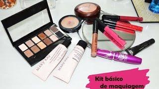 Como montar um kit básico de maquiagem!