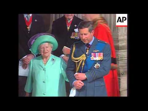 UK - Heads Of State And Royalty At St Paul's Thank