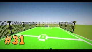 Boisko piłkarskie w Minecraft | Pomysł na budowlę [#31]