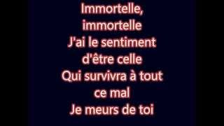 Lara Fabian - Immortelle (Lyrics) HD