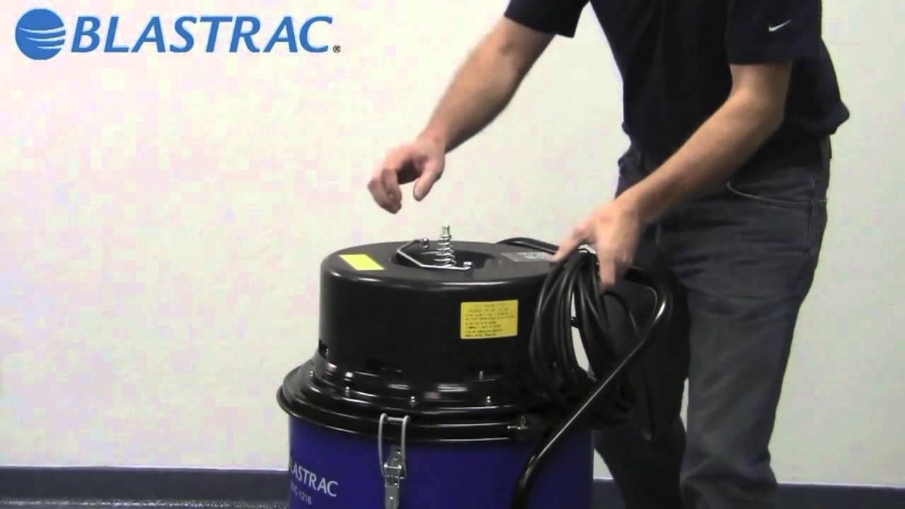 Промышленный пылесос BDC-1216 Blastrac цена, купить, стоимость в .