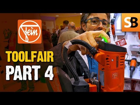 Toolfair #4 - FEIN AKBU 35 PMQW Magnetic Drill