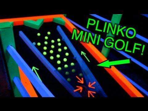 X-TREME GLOW MINI GOLF!