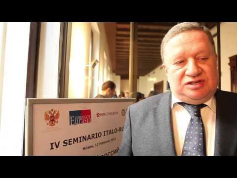 """Console russo a Milano """"La nostra economia riparte dall'innovazione"""""""