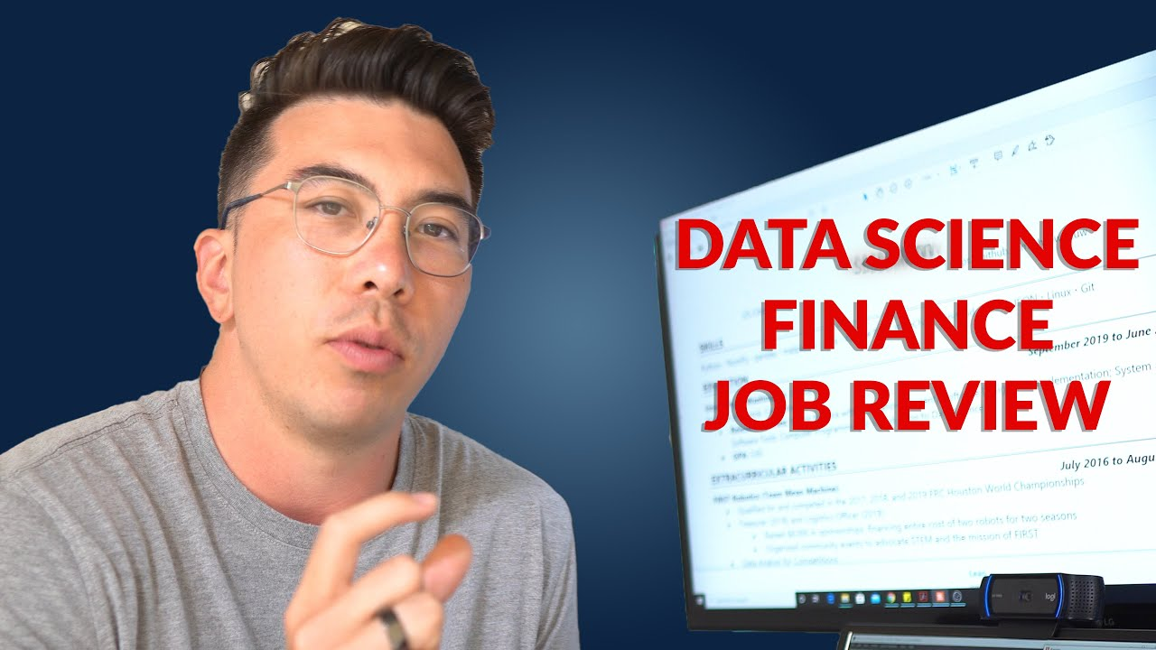 Reviewing Your Data Science Projects - Episode 15 (Quant Finance)