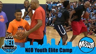 CRAZY Camp Director Battles Julian Newman, Kyree Walker, & Zion Harmon - NEO Youth Elite