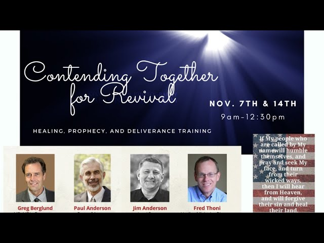 Contending Together for Revival 11-14-2020