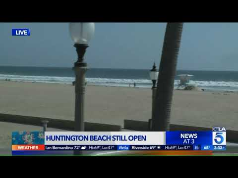 Huntington Beach Still Open Amid Mass Closures
