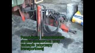 BHP w rolnictwie - BHP przy obsłudze maszyn rolniczych