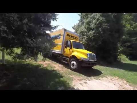 Truck driving vlog-International Durastar
