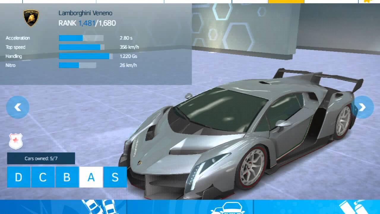 Asphalt Nitro Lamborghini Veneno Youtube