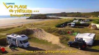Camping La Plage de Treguer - Bretagne - Finistere sud