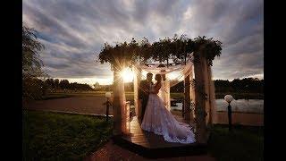 Красивая свадьба в красивом месте. Свадьба в Подмосковье. Эко-отель