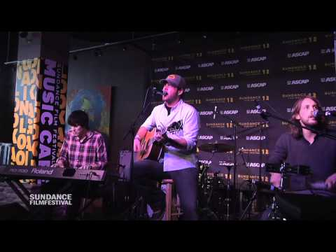 "David Nail performs ""Let It Rain"" at the Sundance ASCAP Music Café"