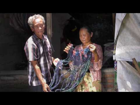 The Making of Balinese Double Ikat Textiles