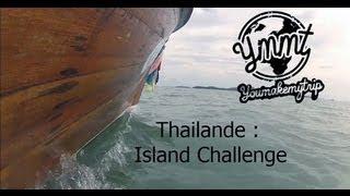 On a jouer les Robinson Crusoe sur une île déserte en Thailande