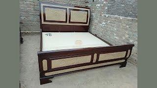 Peshawar Furniture Wood Slay Bed Designs In Pakistan 2019