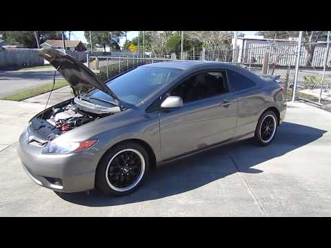 SOLD 2008 Honda Civic Si VTEC Coupe Meticulous Motors Inc Florida For Sale