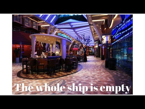Exploring An Empty Ship & Crew Drill In Nassau Allure Of The Seas [ep12]