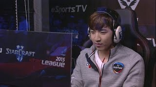 sbenu ssl 2015 hero vs maru ro 8 match1 set1 esportstv starcraft 2