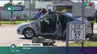 UNA MUJER FALLECIÓ EN UN ACCIDENTE DE TRÁNSITO EN LOZADA