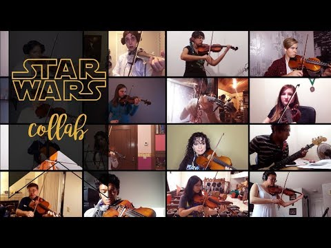 Violinists from all over the world play Star Wars