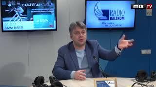 "Омбудсмен Юрис Янсонс в программе ""Разворот"" #MIXTV"