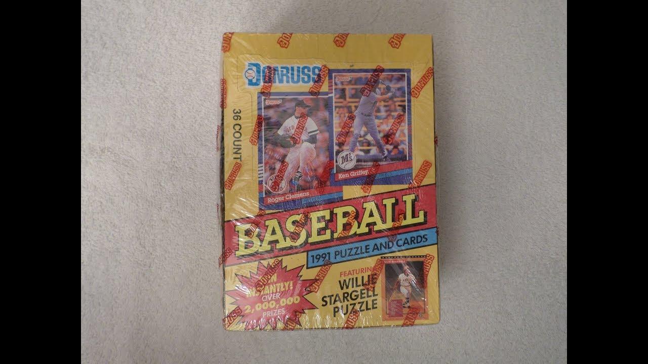 Throwback Thursday 1991 Donruss Baseball Cards