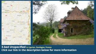 3-bed Unspecified for Sale in St Cyprien, Dordogne, France on frenchlife.biz