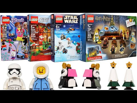 Every 2019 LEGO Advent Calendar Door Opening - Day 3