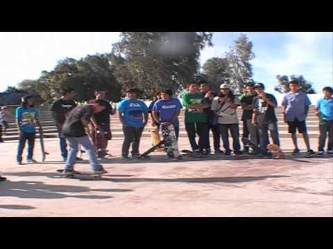 Game Of Sk8 Final Prinsipiantes Mexicali Rio Nuevo Skatepark