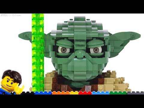 LEGO Star Wars large scale Yoda review! 75255