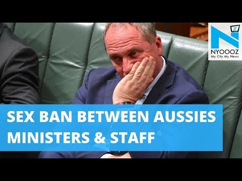 Australia Bans Ministers from Having Sex with Staff | Barnaby Joyce Scandal | NYOOOZ TV
