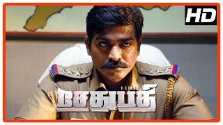 Sethupathi Tamil Movie | Scenes | Vijay Sethupathi investigates the murder of police | Linga